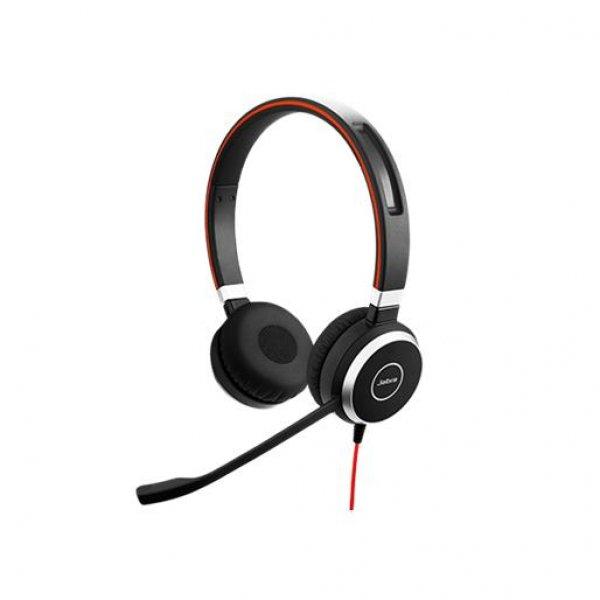 Jabra Evolve 40 MC Stereo USB Headset Kopfband Microsoft Schwarz