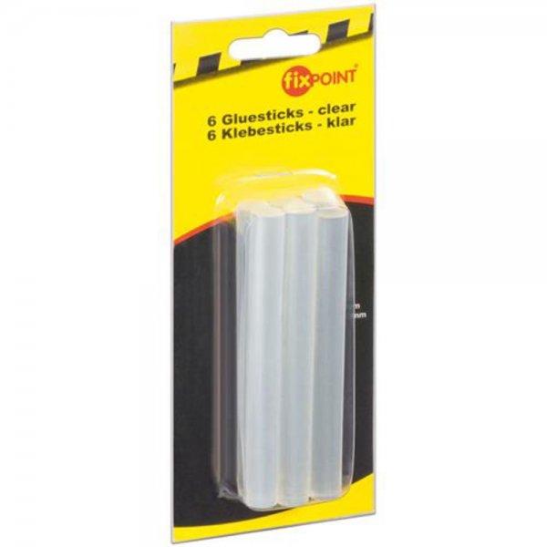 Fixpoint 6x Ersatzklebesticks für Heißklebepistole 11mm WZ HKS 11 #77025