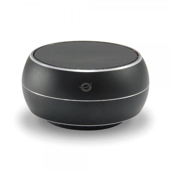 Conceptronic BEATTIE Kabelloser SuperBass Bluetooth Multimedialautsprecher Schwarz Musik Box