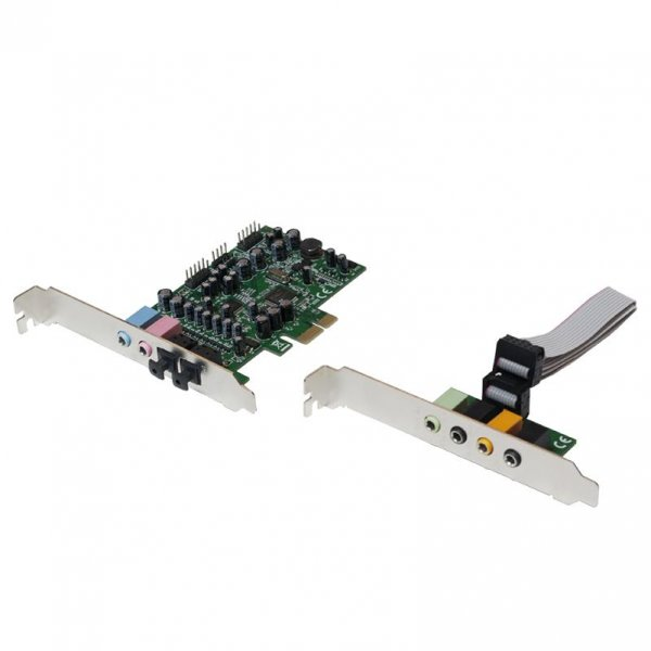 LogiLink PCI-Express 7.1 Soundkarte