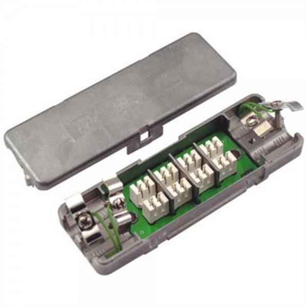 METZ CONNECT BTR - Anschlussblock - Grau # 130863-E