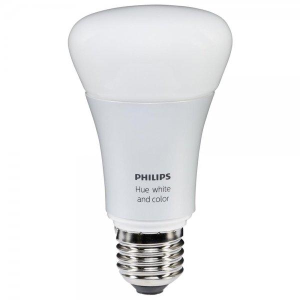 Philips Hue LED Lampe E27 DIM 10W (60W) weiß / farbig 806 lm