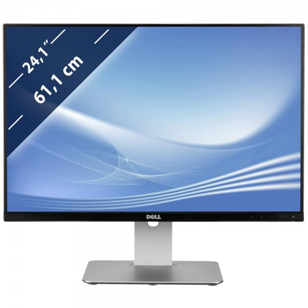 Dell U2415 61,1 cm 24,1 Zoll Monitor Full HD 6ms Hintergrundbeleuchtung Silber