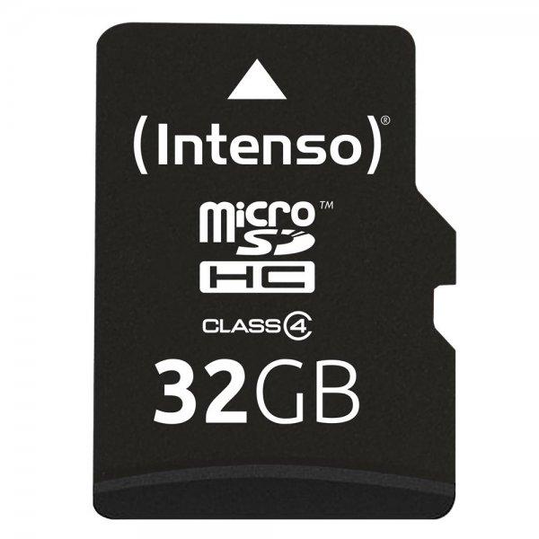 Intenso 32GB microSD Karte Class 4 Speicherkarte