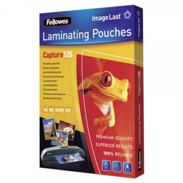 Fellowes Taschen für Laminierung - 100 x glänzend - A4 # 53074