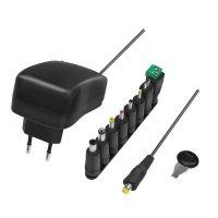 LogiLink Universalnetzteil einstellbar mit USB-Port 3-12V 24W 8 Adapter