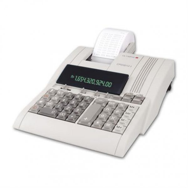 Olympia CPD 3212T druckender Tischrechner Steuerrechnung #946776005
