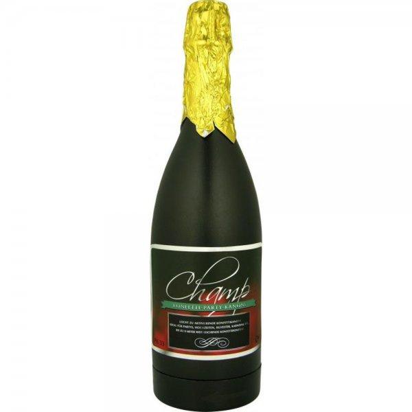 H+H PKS 30 Konfettikanone Champagner Partykanone Sektflasche mit Konfetti #98793
