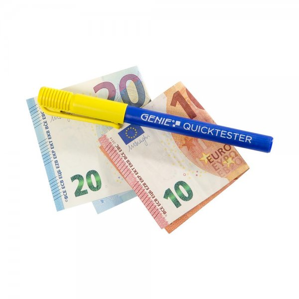 GENIE Geldscheinprüfstift Quicktester Falschgeld Prüfstift Geldprüfstift