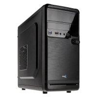 Aerocool QS-182 Mini Tower Gaming PC-Gehäuse schwarz Mini-ITX Micro-ATX