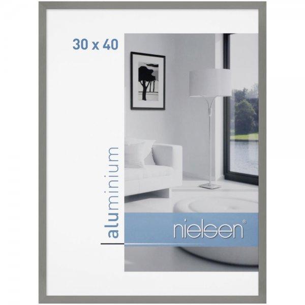Nielsen C2 grau matt 30x40 Aluminium Struktur | 63051