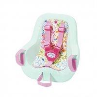 Zapf Creation 827277 Baby Born Play & Fun Fahrradsitz 43 cm Rosa Mint