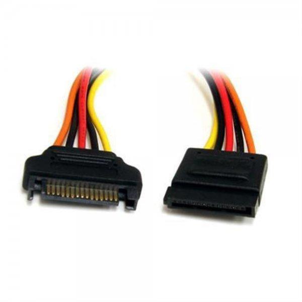 StarTech.com SATAPOWEXT12 S-ATA 15 Pin Stromverlängerung 30cm St/Bu