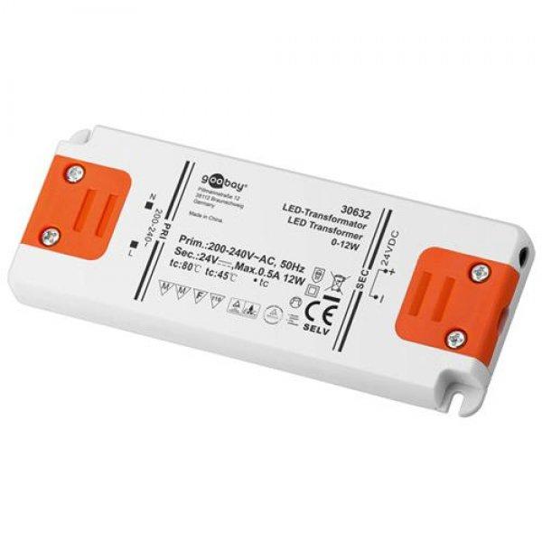 Goobay slim LED-Transformator DC-Betrieb 24 V DC Ausgangsspannung # 30632