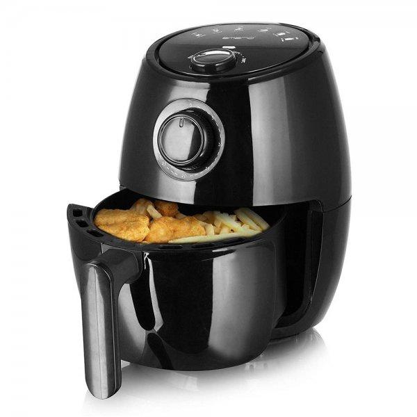 Emerio Heißluftfritteuse Smart Fryer 2 L schwarz Timer Cool Touch Gehäuse