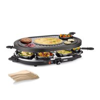 Princess Raclette 8 Personen Oval Party Grill 01.162700