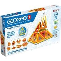 Geomag Classic Panels 78 Teile Magnetbausteine Magnetisches Konstruktionsspielzeug ab 5 Jahren
