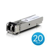 Ubiquiti SFP Modules Multi-Mode Glasfaser U FiberTM Modul Multimode 550m 20er Pack | UF-MM-1G-20