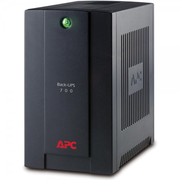 APC BX700U-GR Back-UPS USV 700VA AVR 4x Schutzkontakt