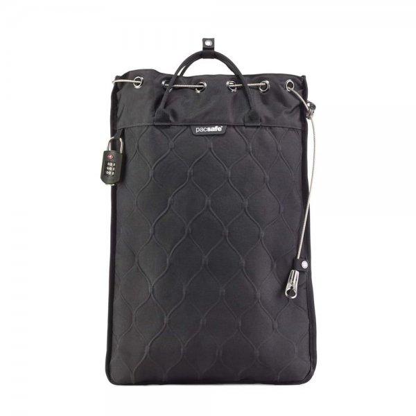 Pacsafe Travelsafe 12L GII Portable Safe mit TSA-Zahlenschloss Anti-Diebstahl Schwarz