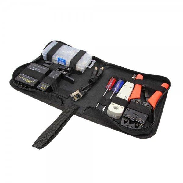 LogiLink WZ0030 Netzwerk Werkzeug Set mit Tasche