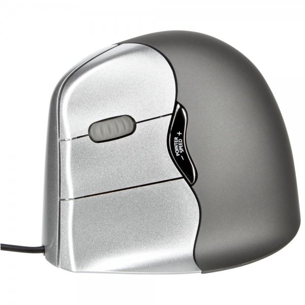 Evoluent vertikale Maus / ergonomische Maus 4 für Linkshänder