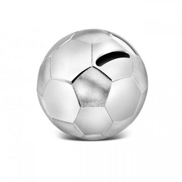 Zilverstad Spardose Fußball versilbert anlaufgesch. A6007260