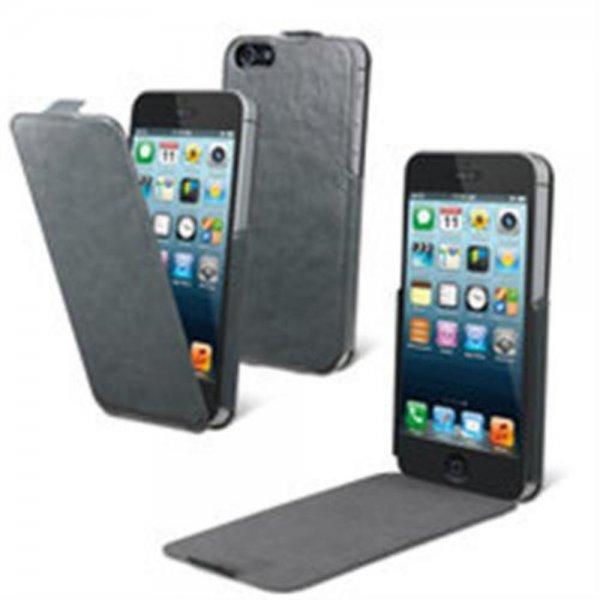 Muvit iFlip Case Grau für Apple iPhone 5/5S