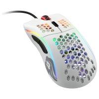 Glorious Model D Gaming-Maus - weiß, matt