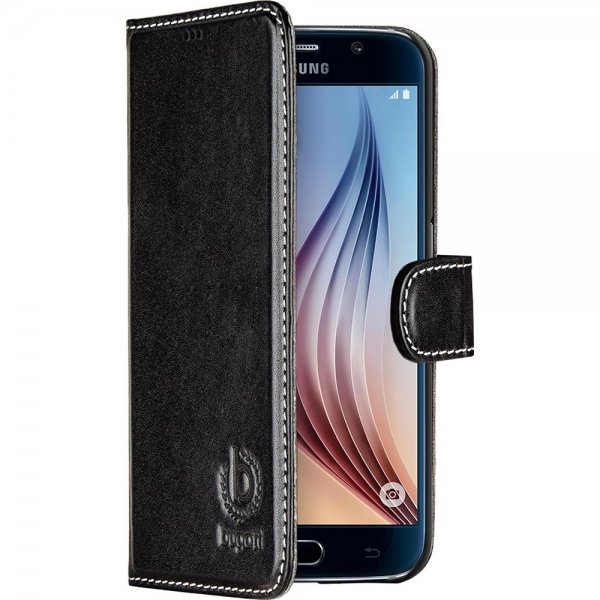 Bugatti BookCase Rome | Samsung Galaxy S6 | schwarz