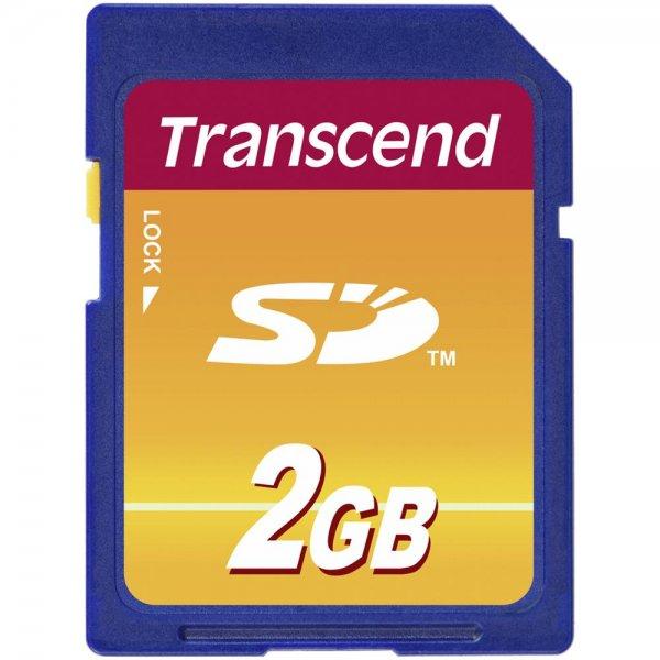 Transcend SD 2GB SD-Karte Speicherkarte