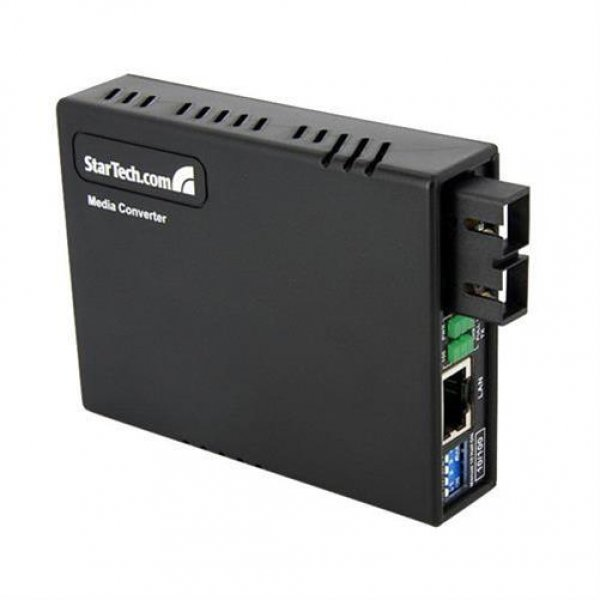 StarTech.com MCM110SC2EU LWL/Glasfaser Multimode Medienkonverter LS/RJ45 100Mbps