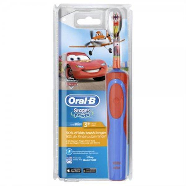 Braun Oral-B Stages Power Cars-Planes cls elektrische Zahnbürste für Kinder