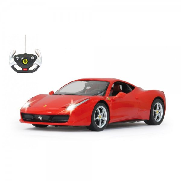 Jamara RC Ferrari 458 Italia 1:14 rot inklusive Fernbedienung