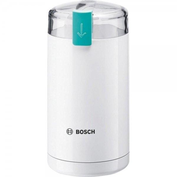 Bosch elektrische Kaffeemühle MKM6000 Weiß Espressomühle Schlagmesser 180 W