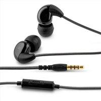 ACME HE16B Harmonic In-Ear Kopfhörer mit Mikrofon Schwarz
