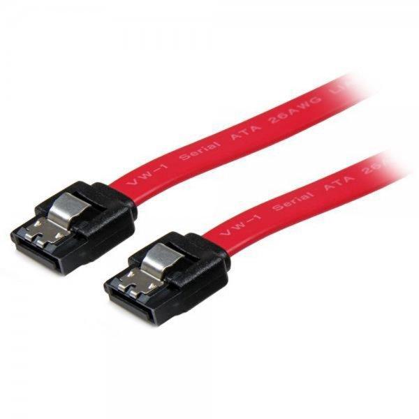 StarTech.com LSATA18 45 cm einrastendes SATA-Kabel ST/ST