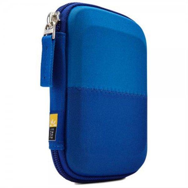 """Case Logic Hülle Etui Tasche Schutz für externe 2,5"""" Festplatte Blau #HDC11B"""