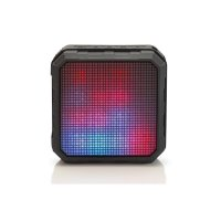 EDNET Spectro LED Bluetooth 4.0 Lautsprecher NFC Speaker Party Lichtshow USB-Kabel