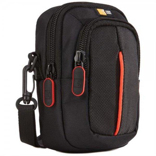 Case Logic DCB313 Moderne Kompaktkamera Tasche Foto Point & Shoot schwarz rot