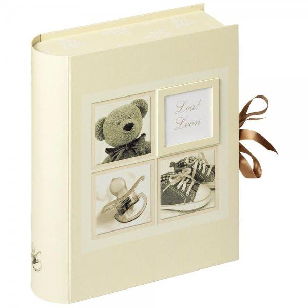 Walther Sweet Things Baby Aufbewahrungsbox beige Fotobox mit Schubladen & Tasche