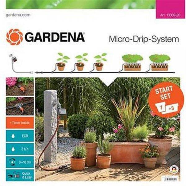 Gardena Gard MDS Start-Set Pflanztöpfe M autom. | 13002