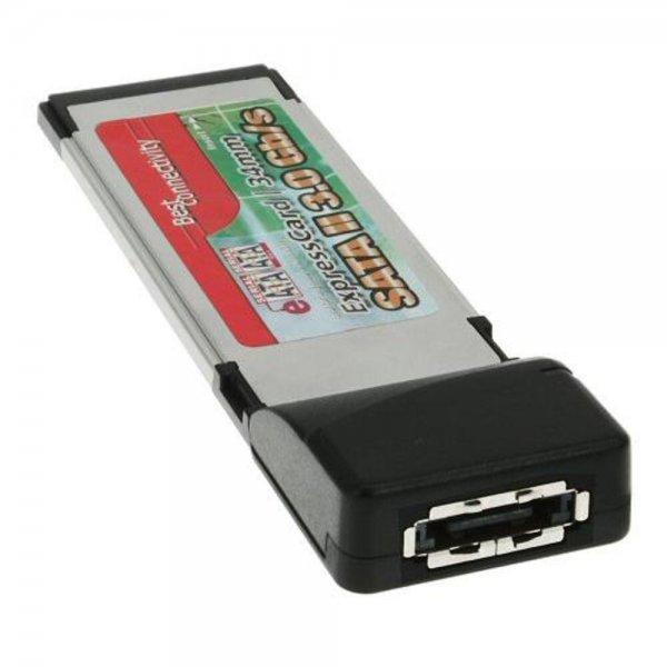 InLine PCMCIA Express Card auf 1x eSATA