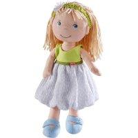 HABA Puppe Jil Stoffpuppe 30 cm weicher Körper Mädchen Prinzessin ab 1,5 Jahre
