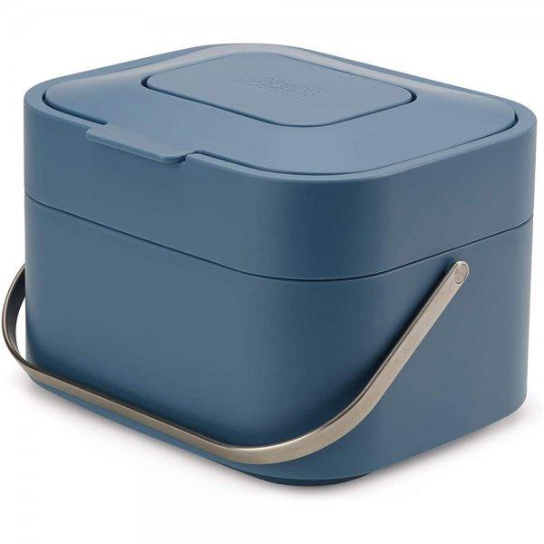 Joseph Joseph Editions Stack 4 Biomüll Abfallbehälter blau Mülleimer Abfallbehälter