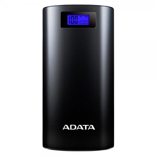 ADATA Powerbank P20000D Black 20000 mAh mobiler Akku