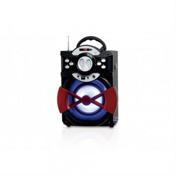 Conceptronic Kabellose Bluetooth 2.1 Party Lautsprecher 1200-mA-Akku
