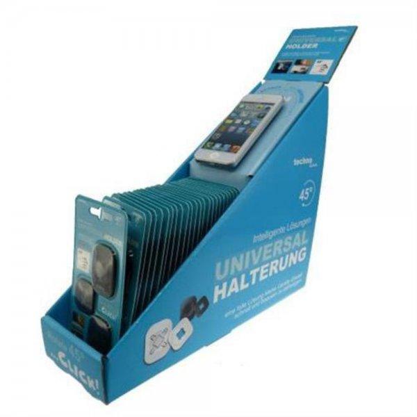 Technoline Universal Holder 24er Set Handy-Halterungen Wiederverwendbar