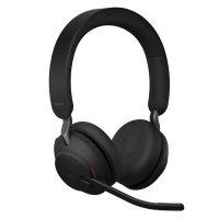 Jabra Evolve2 65 MS Stereo Kopfhörer Headset Noise Cancelling USB-C Bluetooth Schwarz