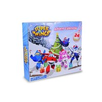Waiky Super Wings Flugzeuge Adventskalender mit 24 Figuren